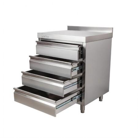 Plaque de cuisson gaz 600 x 600 mm - Surface lisse acier rectifié