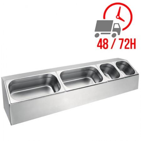 Passe-plat 1400 mm / H.400 mm