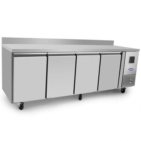 Plaque de cuisson gaz 700 x 650 mm (11.4kW) - Surface acier lisse chromée