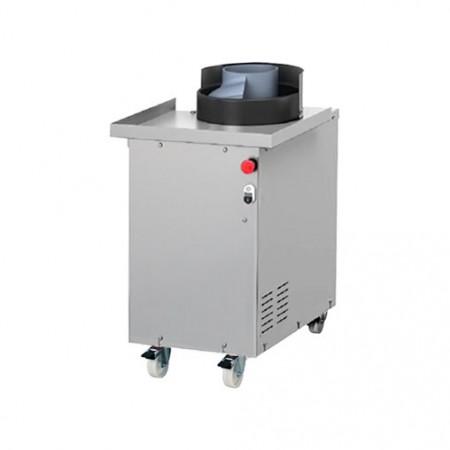 Plaque de cuisson gaz 300 x 600 mm (4kW) - Surface acier lisse