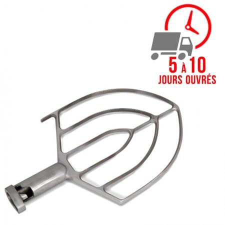 Plaque de cuisson gaz sur pieds 300 x 600 mm (4kW) - Surface acier chromée