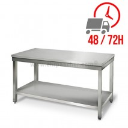 Table inox 1500 x 600 mm / CHRPASCHER