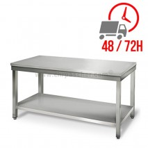 Table inox 1600 x 600 mm / CHRPASCHER
