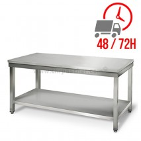 Table inox 1800 x 600 mm / CHRPASCHER