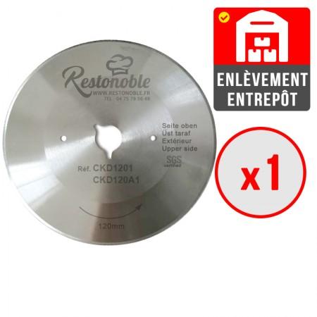 Table inox 600 x 600 mm adossée / CHRPASCHER
