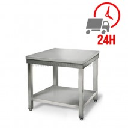 Table inox 700 x 700 mm / CHRPASCHER