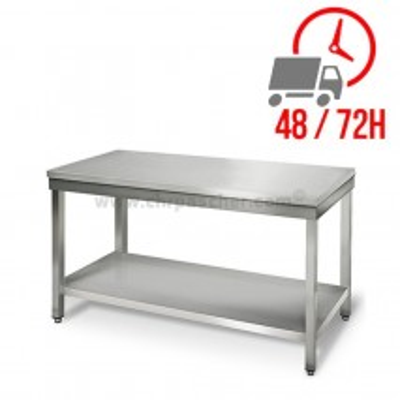 Table inox 1400 x 700 mm / CHRPASCHER