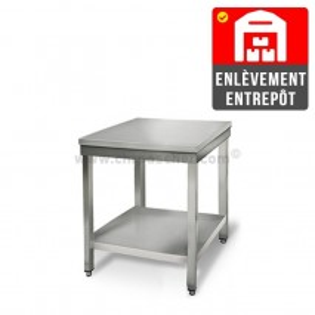 Table inox 500 x 500 mm / GOLDINOX   Enlèvement entrepôt