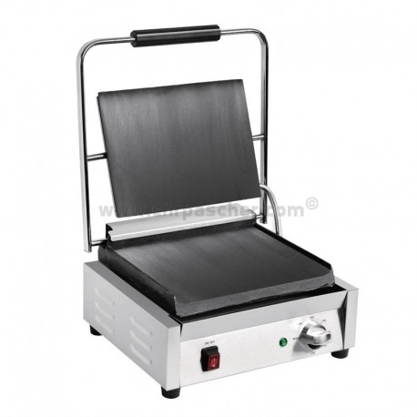 Grill de contact lisse/lisse large simple 380x395 / Buffalo