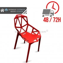 Chaise Ruby - Rouge / CHRPASCHER