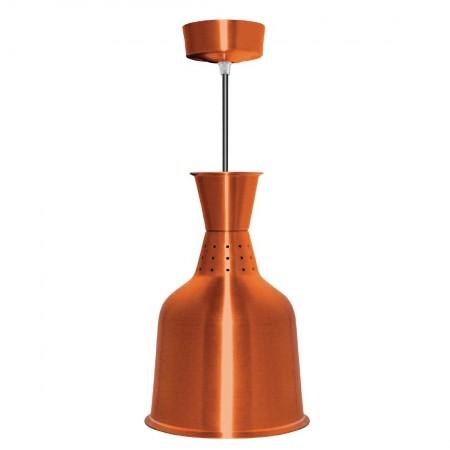 Lampe chauffante aluminium laiton