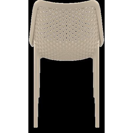 Chaise de bar Elif - Rouge / CHRPASCHER