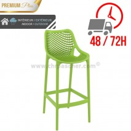 Chaise de bar Elif - Vert / CHRPASCHER