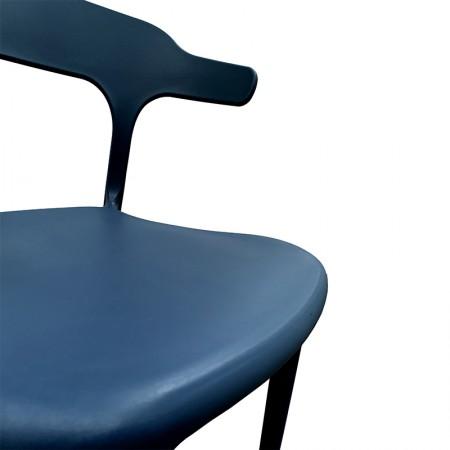 Chaise de bar Elif - Rouge / CHRPASCHER | Enlèvement entrepôt