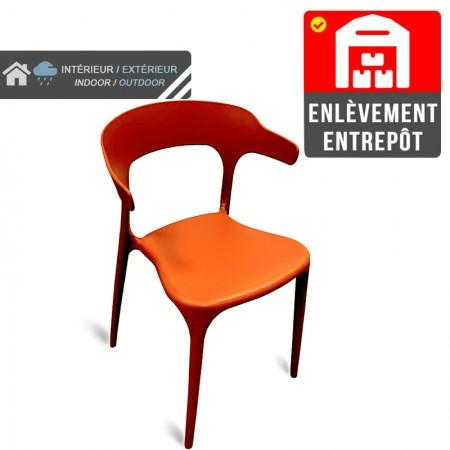 Chaise de bar Elif - Gris / CHRPASCHER | Enlèvement entrepôt