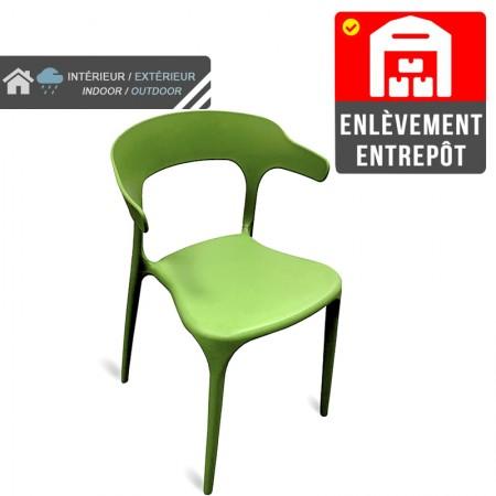 Chaise de bar Elif - Taupe / CHRPASCHER | Enlèvement entrepôt