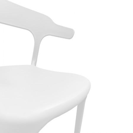 Chaise de bar Elif - Blanc / CHRPASCHER | Enlèvement entrepôt