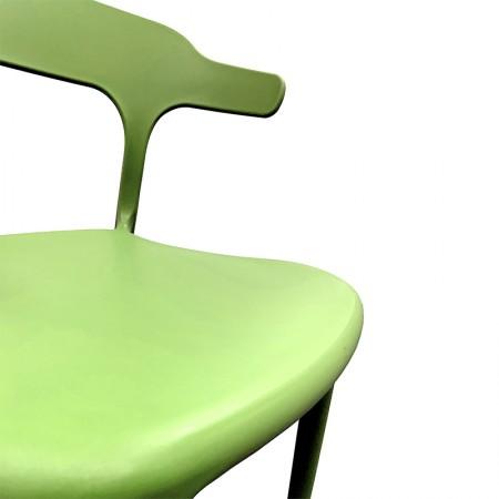 Chaise de bar Elif - Jaune / CHRPASCHER | Enlèvement entrepôt