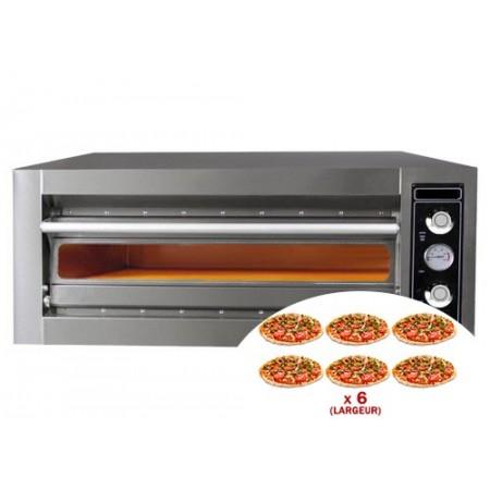 Four à pizza électrique 6 x 30 cm