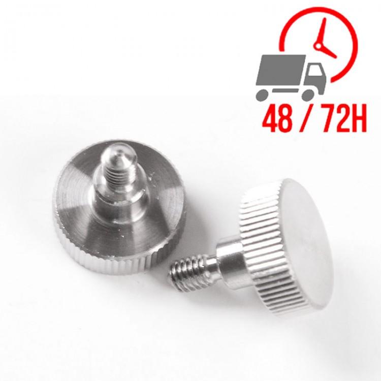 Réfrigérateur inox 400 L / 1 porte