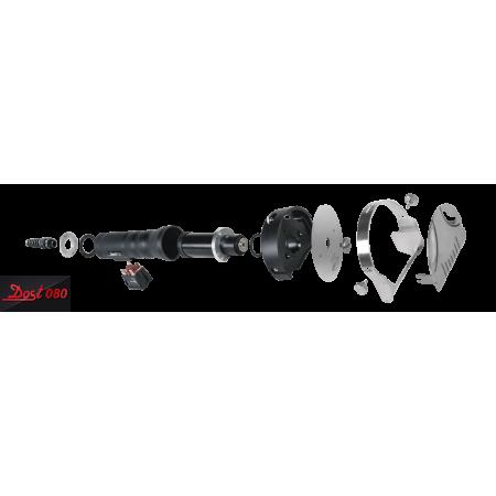 Réfrigérateur inox 450 L / 1 porte