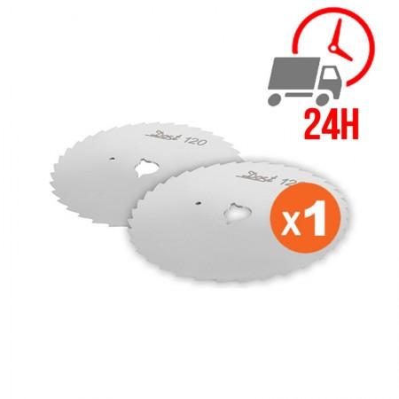 Réfrigérateur inox 450 L / Compact / 1 porte vitrée