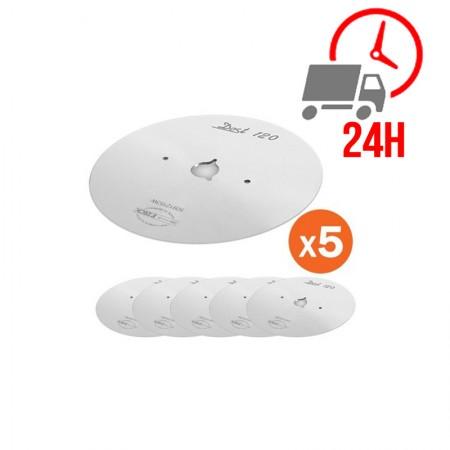 Réfrigérateur inox 1390 L / Compact / 3 portes vitrées