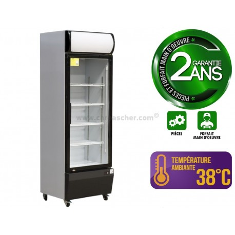 Vitrine à boissons 320 L / 1 porte