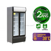 Vitrine à boissons 580 L / 2 portes