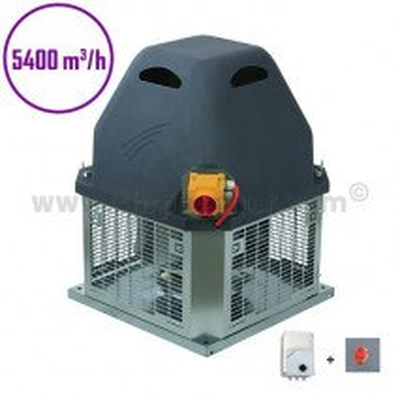 Tourelle d'extraction - 5400m3/h