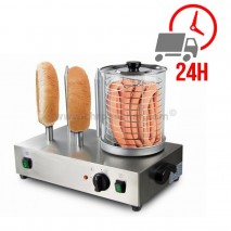 Machine à Hot-dog 4 plots - 230V / CHRPASCHER